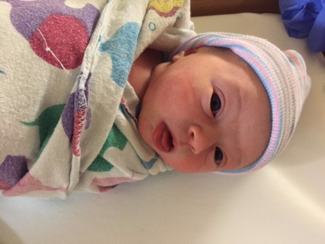"A.P.T. 9/14/15 ""All Natural! Thanks Kristen!"" CONGRATS on a healthy, adorable baby girl!"